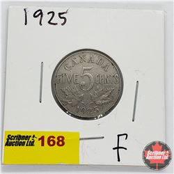 Canada Five Cent 1925