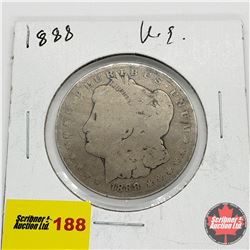 US Morgan Dollar 1888