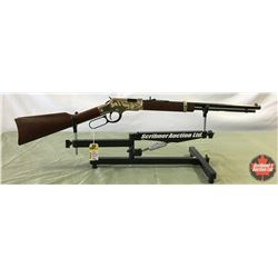Rifle: Henry 22SL/LR Golden Boy - Lever Octagon BBL - S/N# GB306386