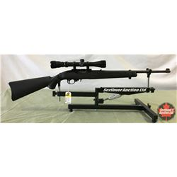 Rifle: Ruger 22LR Model 10/22 Semi Auto w/Scope - S/N# 821-65732