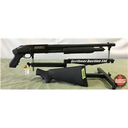 Shotgun: Mossberg 12 ga Model 500A - Pump (w/Pistol Grip & Stock) S/N# R970169