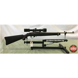 Rifle: Ruger 22LR Model 10/22 Semi Auto w/Scope - S/N# 354-04547