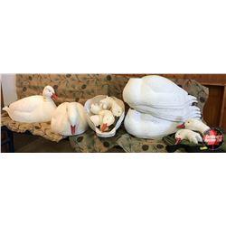 Decoys: Snow Geese (12) w/Mesh Bag
