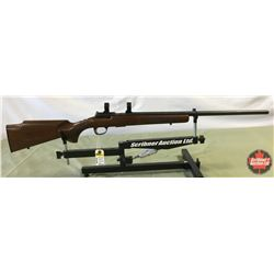 Rifle: Browning 22Mag T Bolt (Left Hand) Scope Rings S/N#0383MN253
