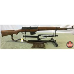 Rifle: Swedish 6.5x55 Model B M-42 Semi Auto  w/Sling & Kit