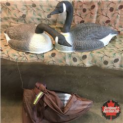 Field Goose Decoy's (5) w/Bag
