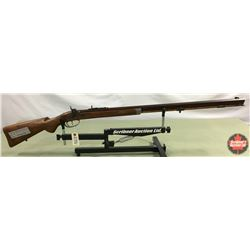 "Rifle: CUSTOM Built ""1988 JD Ambrose"" Percussion .50cal  S/N#015"