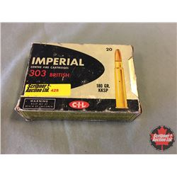 AMMO: CIL Imperial 303 British - Vintage (20 Rnds)