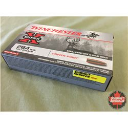 AMMO: Super X 284 Win (20 Rnds/Box) CHOICE of 10 Boxes
