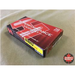 AMMO: Hornady Superformance Varmint 204 Ruger (20 Rnds/Box) CHOICE of 4 Boxes