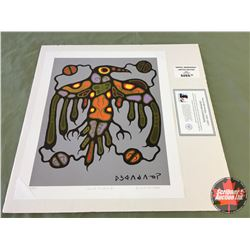 "Limited Edition Prints CHOICE of 5: Morrisseau ""Sacred Thunderbird"" 58/695"