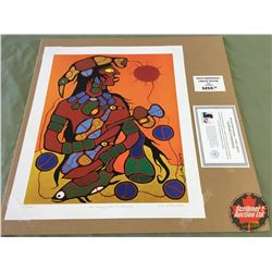 "Limited Edition Prints CHOICE of 5: Morrisseau ""Man Changing Into Thunderbird"" 27/695"