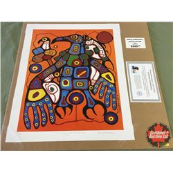 "Limited Edition Prints CHOICE of 5: Morrisseau ""Man Changing Into Thunderbird"" 16/99"
