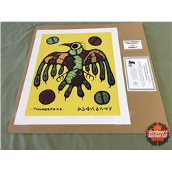 "Limited Edition Prints CHOICE of 5: Morrisseau ""Thunderbird"" 98/695"