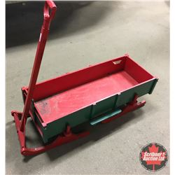 "Small Bob Sleigh - Custom Built 4'L x 17""W x 16""H"