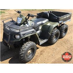 2014 Polaris 800 Sportsman EFI  6x6 Big Boss Quad w/Dump Box (New Winch Line) 811 Miles/123Hrs (Fres