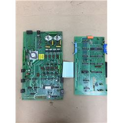 (2) Bridgeport TEXTRON Circuit Boards *See Pics for Part Numbers*