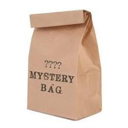 Mystery Bag Filled with Assorted Items from Coins-Jewelry-Collectibles