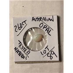 2.60 Carat Large Australian OPAL Tested Natural