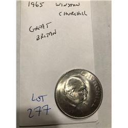 1965 Great Britain Winston Churchill Coin