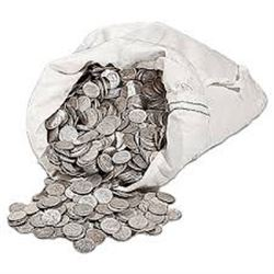 Bag of 3 Silver Unsearched Quarters Assorted Dates 1932 to 1964 Mints and Grades