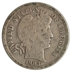 1903-S Barber Dime Coin