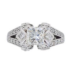 18KT White Gold 2.32ctw Diamond Ring