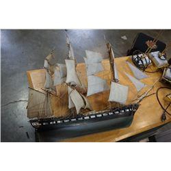 TALL SHIP MODEL 3 MAST