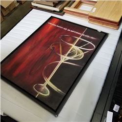 FRAMED CANVAS ABSTRACT