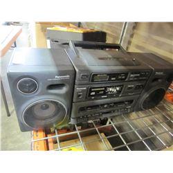 PANASONIC RX-DT650 CD STEREO BOOMBOX