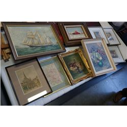 LOT OF PAINTINGS, PRINTS, LIMITED EDITION PRINTS