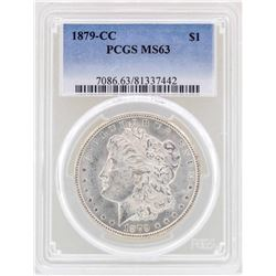 1879-CC $1 Morgan Silver Dollar Coin PCGS MS63