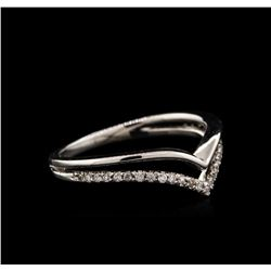 0.13 ctw Diamond Ring - 14KT White Gold