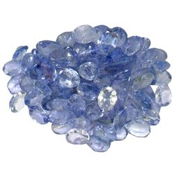 13.99 ctw Oval Mixed Tanzanite Parcel