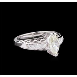1.16 ctw Diamond Ring - 14KT White Gold