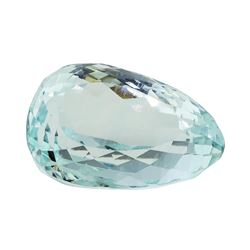 22.23 ct. Natural Pear Cut Aquamarine