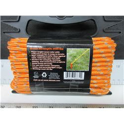 "New 1/4"" Reflective Rope 50ft"