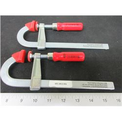 """New Bessey 6"""" Light duty Steel Bar Clamp / BES LMU2.006            ."""