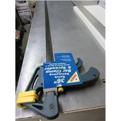 "New 36"" Quick Ratcheting Bar Clamp & Spreader"