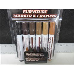 New 12 piece Furniture Touch up Markers
