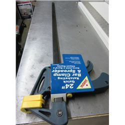 "New 24"" Quick Ratcheting Bar Clamp & Spreader"