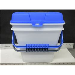 2 New Pet Food Containers / keeps food fresh & pests out