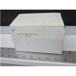 """New case of 100 VSM Abrasives INC. 6 x 6"""" KP911SK  150G Velour disk"""