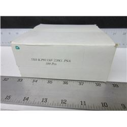 """New case of 100 VSM Sanding disk   5"""" x 0 KP911SF  220G  PSA"""