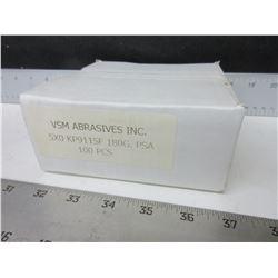 New case of 100  VSM  Sanding disk  5 x 0  KP911SF  180G PSA