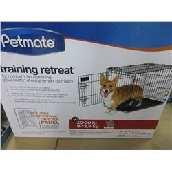 New PetMate Training Retreat / Wire Kennel for 20-30lb Dogs/Pets