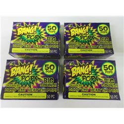 4 Box's BANG! Pops 50 per box / drop em or throw em big BANG!