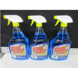 3 New 32floz Spray Glass Cleaner / NO Streak / excellent glass cleaner