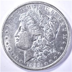 1899 AU KEY DATE MORGAN DOLLAR
