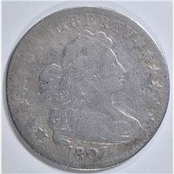 1807 BUST DIME   FINE